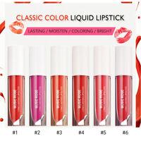 BO New Lipsticks Waterproof Long-Lasting Pigmented Moisturizing Lip Gloss Vivid