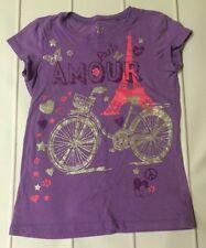 Children's Place Purple  Shirt Size 10/12