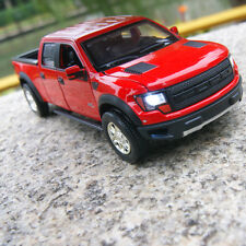 Ford F-150 SVT Raptor 1:32 Car Model Alloy Diecast Sound&Light Toys Pickup Gifts