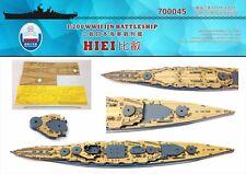 Astillero 1/700 700045 cubierta de madera IJN Hiei para Fujimi