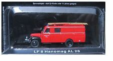 """DIE CAST """" LF 8 HANOMAG A 28 """" FIREFIGHTERS OF FIRE FIRE TRUCK SCALE 1/72"""