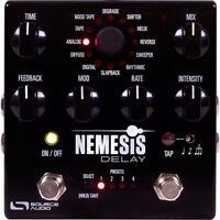 SOURCE AUDIO Nemesis Delay Pedal SA260 SA-260 SA 260 Fedex 2 Day Shipping! Mint