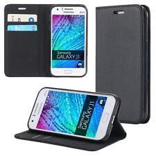 Samsung Galaxy J1 (2015) Handy-Tasche Flip Cover Book Case Schutz-Hülle  Etui W