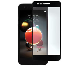 For LG Fortune 2 Black Tempered Glass Real Shatterproof Screen Protector