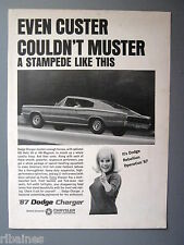 R&L Ex-Mag Advert: '67 Dodge Charger, 426 Hemi V8 or 440 Magnum