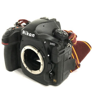 Nikon D850 Digital SLR camera with battery grip