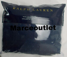 Ralph Lauren Home Bedford Jacquard KING Duvet Cover Highland Navy Blue