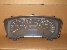 2005 05 Chevy Colorado GMC Canyon Truck Auto Trans Speedometer Cluster 51K