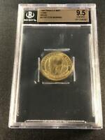 PEYTON MANNING 1998 PINNACLE MINT COINS BRASS ROOKIE BGS 9.5 GEM