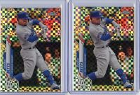2020 Topps Chrome MOOKIE BETTS 2 x XFRACTOR Lot - Los Angeles Dodgers