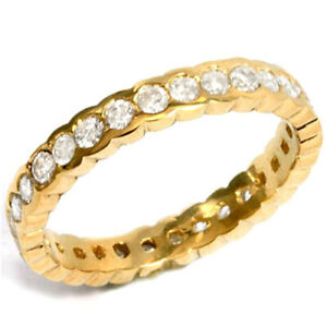 14 KT SOLID YELLOW GOLD RING 1.00 CT GENUINE DIAMONDS (VS CLARITY)