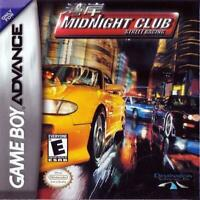 Midnight Club Street Racing Game Boy Advance Game Used Complete