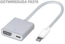 CONNECT YOUR iPAD 4 iPAD AIR iPAD MINI 1 MINI 2 TO A TV HDMI 8-PIN APPLE ADAPTER