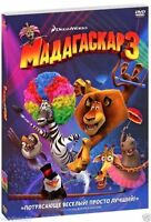 Madagascar 3: Europe's Most Wanted (DVD, 2012) Russian,English,Turkish,Ukranian