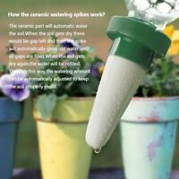 1/2/4Pcs Ceramic Automatic Plant Waterer Flower Self Watering Spikes Home Garden