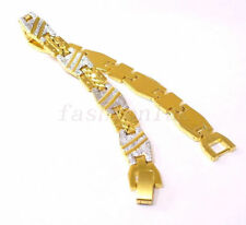 Yellow Gold Plated 18Carat Bracelets for Men