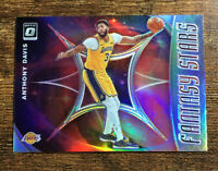 Anthony Davis 2019-20 Donruss Optic Fantasy Stars Silver Holo Los Angeles Lakers