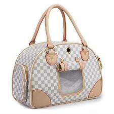 Designer Look Checkered Dog Carrier $90