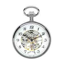 Reloj de bolsillo cara abierta enchapados en Chrone Esqueleto de montaje Royal-Modelo Nº B3C/AF