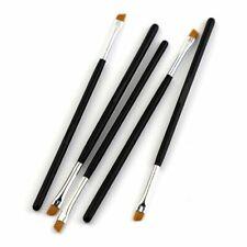 Eye Brow Brushes Pro Angled Cosmetic Eyebrow Brush Tinting Eyeshadow 5Pcs