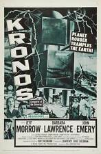KRONOS Movie POSTER 27x40 Jeff Morrow Barbara Lawrence John Emery George