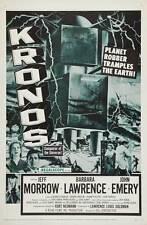 KRONOS Movie POSTER 27x40 Jeff Morrow Barbara Lawrence John Emery George