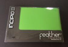 "Brand New Incipio Feather laptop case for Apple MacBook Pro 13"" Unibody - Green"