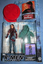 X-Men The Movie Anna Paguin as ROGUE---w/Cloth Cloak --Marvel--2000 Toy Biz