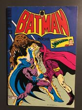 BATMAN POCHE (Sagedition) - T23 : janvier 1980
