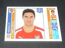 259 ARTETA GUNNERS ARSENAL PANINI FOOTBALL UEFA CHAMPIONS LEAGUE 2014-2015