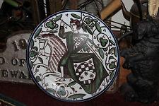 Sevilla Tipica Arte De La Ceramica Cabinet Plate-Hand Painted Knight On Horse