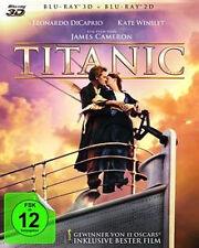 Titanic Blu Ray 3d 2d 4 * Discs