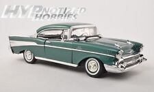 MOTORMAX 1:18 1957 CHEVROLET BEL AIR HARD TOP DIE-CAST GREEN 73180