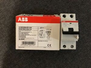 ABB 25 Amp RCBO Circuit Breakers (23 Available) - New in box