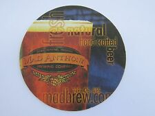 Beer Coaster ~*~ MAD ANTHONY Brewing Co ~ Fort Wayne, INDIANA Brewery Since 1998