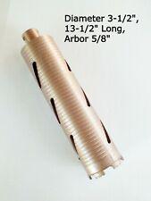Diamond Drill Bit Core Boring Concrete Drill 13 12 Long Diameter Size 3 12