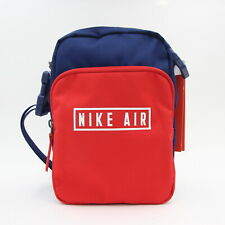 New Nike Air Heritage 2.0 Small Items Red Blue Shoulder Man Bag Mens BA5900 492