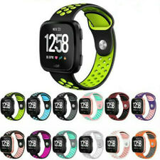 Replacement Sport Silicone Wrist Band Watch Strap For Fitbit Versa/2 Smart Watch