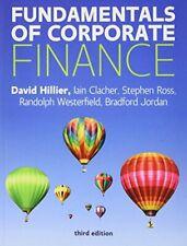 Fundamentals of Corporate Finance by Hillier, Ross, Westerfield, Jordan New*-