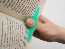 1Pcs Multifunction Thumb Thing Book Page Holder Convenient Bookmark