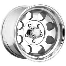 "Pacer 164P LT Mod Polished 15x10 5x5.5"" -48mm Polished Wheel Rim 15"" Inch"