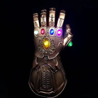Thanos Infinity Gauntlet Marvel Gloves Legends LED Light Avengers Cosplay