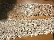 Vintage 4in wide Lace, 10yd, some damage