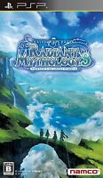 Used PSP Tales of The World Radiant Mythology 3  SONY PLAYSTATION JAPAN IMPORT