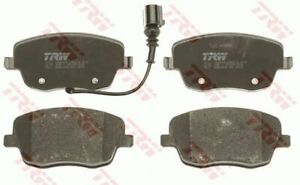 """Skoda Roomster 15"""" Wheel Front PR 06 on TRW Front Disc Brake Pads GDB1472 DB2032"""