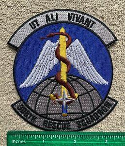 US Military UT ALI VIVANT 308th Rescue Squadron Air Force Patch