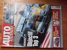 $$w Revue Auto Hebdo N°1429 Renault F1  Ford Mustang  Francois Duval  Subaru STi