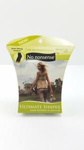 New No Nonsense Ultimate Shapers - Shaping Waist To Mid-Thigh LARGE Color: BARE