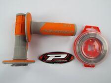 PRO GRIP 801 Arancio Manopole Filo Metallico Motocross Enduro SX250 SXF250