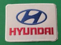 Hyundai WRC Rally Sew on / Iron on Patch Embroidered Motor Racing Badge
